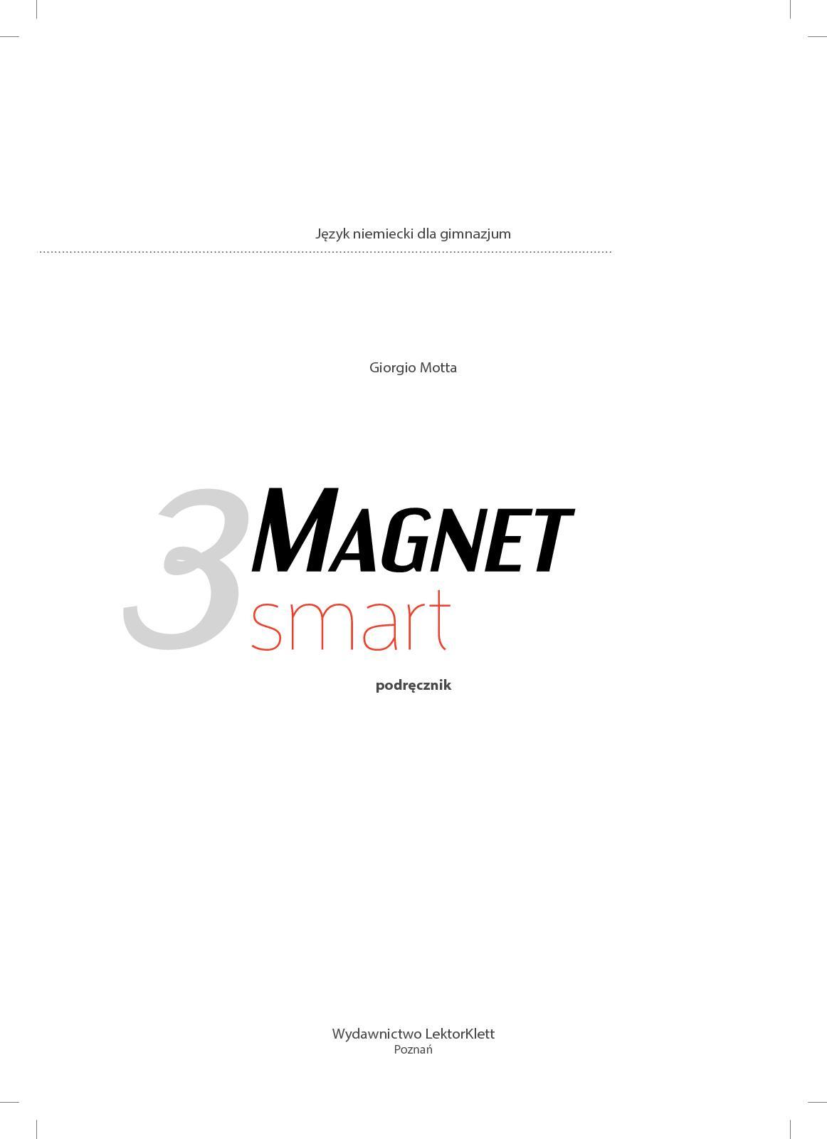 Magnet Smart 3 - Podręcznik