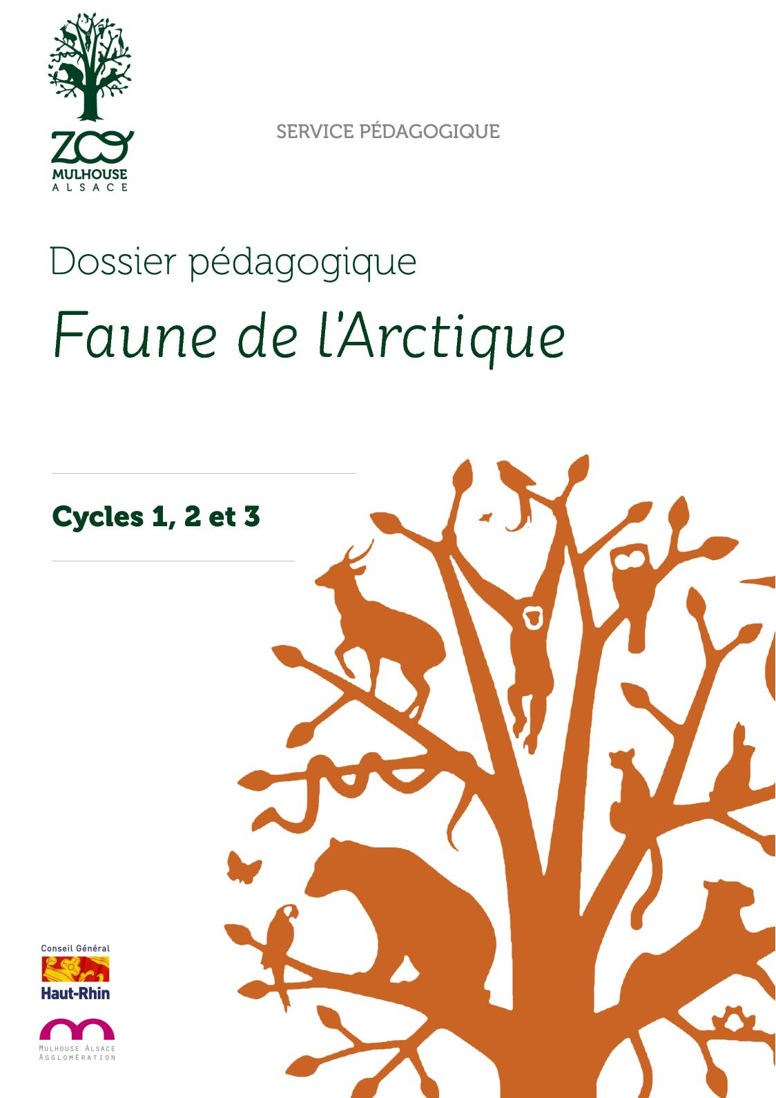 La Faune de l'Arctique (cycles 1-2-3)