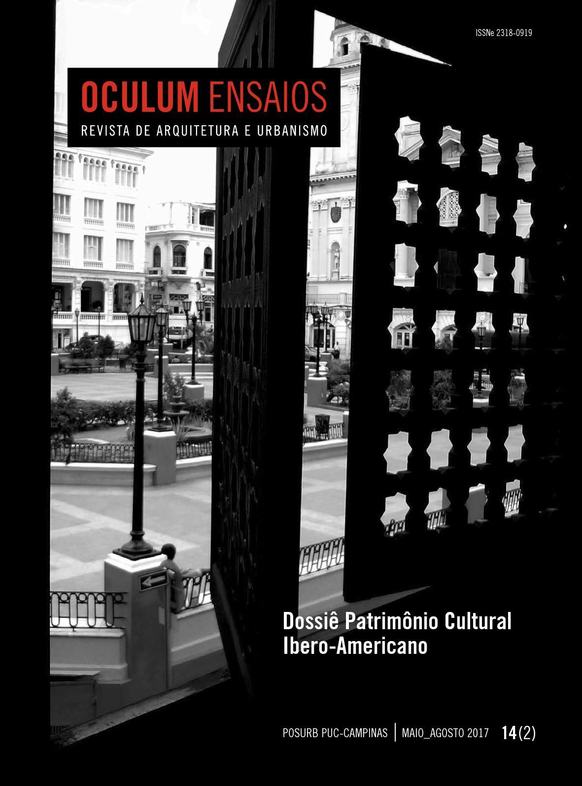 Calaméo - Oculum N 14 - Dossiê Patrimônio Cultural Ibero-Americano -  Arquitetura e Urbanismo 3f3460bdf7