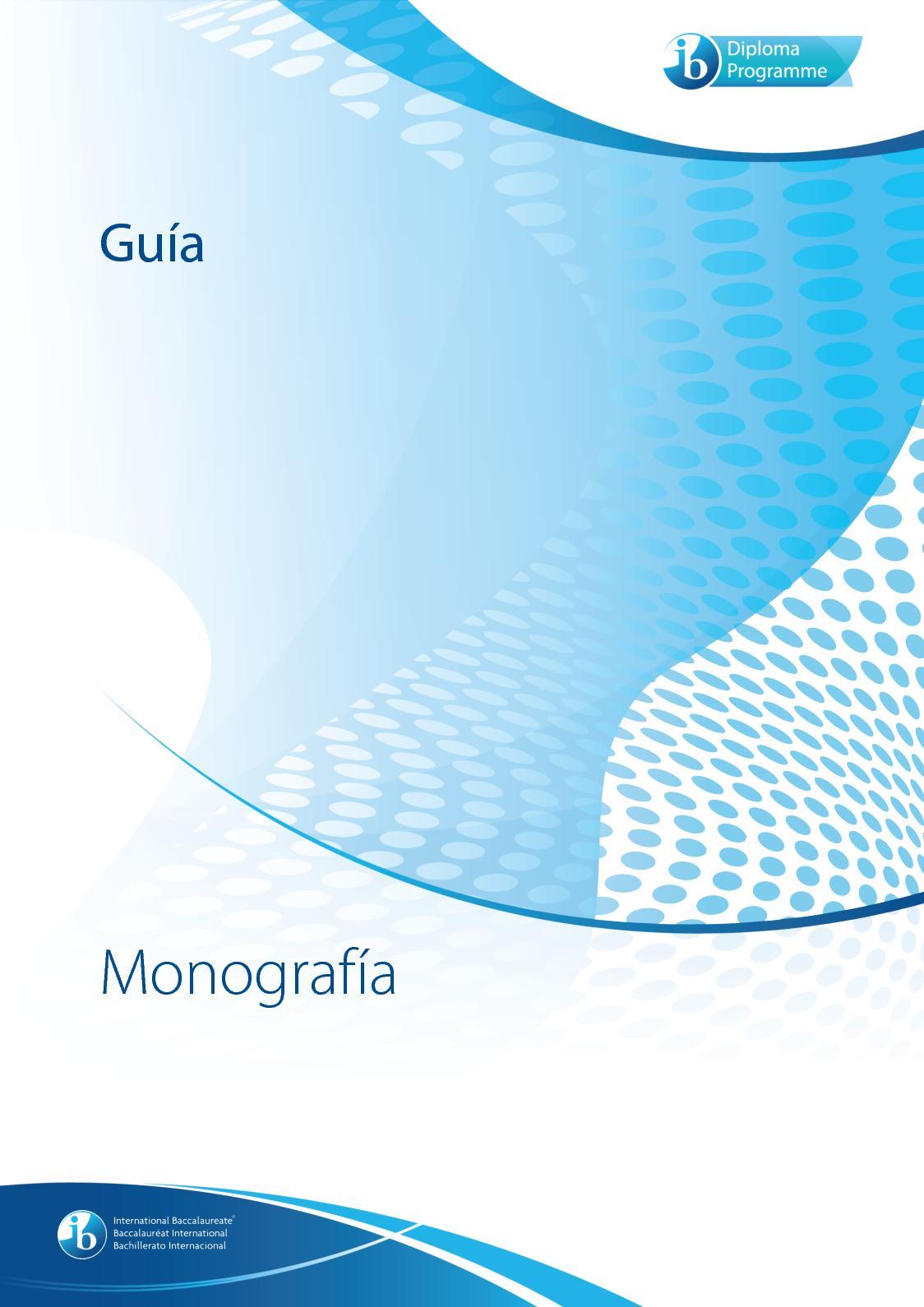 Guía De Monografía 2017