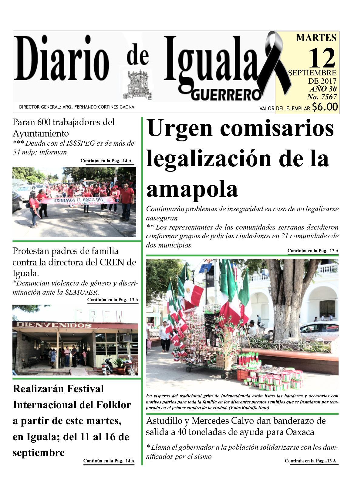 Calaméo - Diario De Iguala Martes 12 De Septiembre