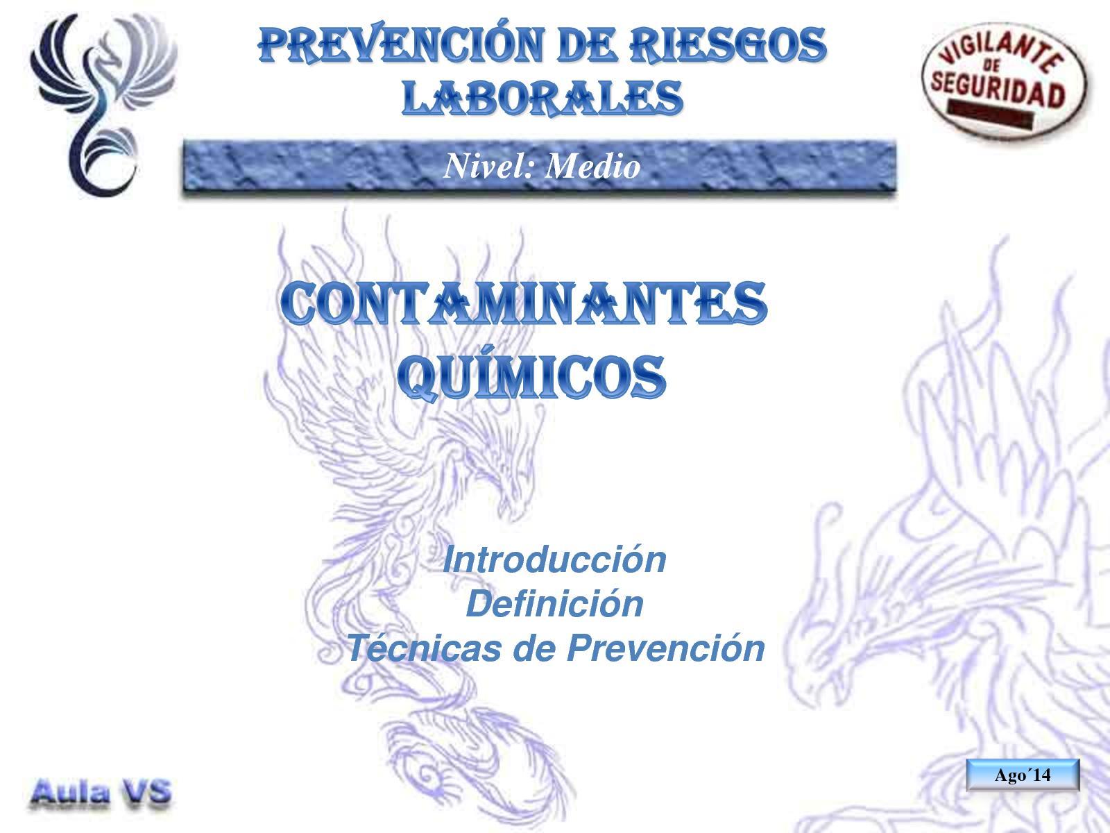 Prl Contaminantes Quimicos