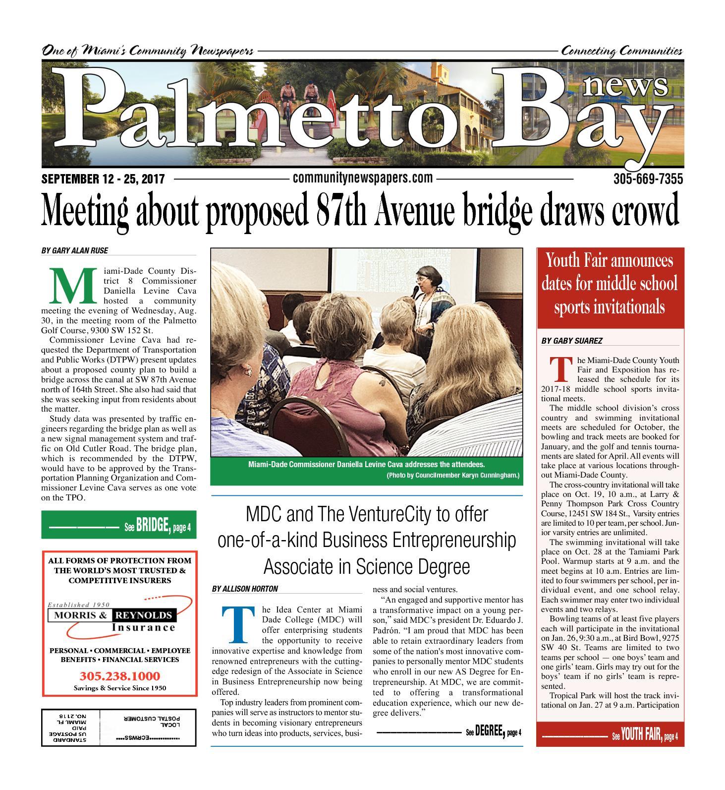Calaméo Palmetto Bay News 09 12 2017