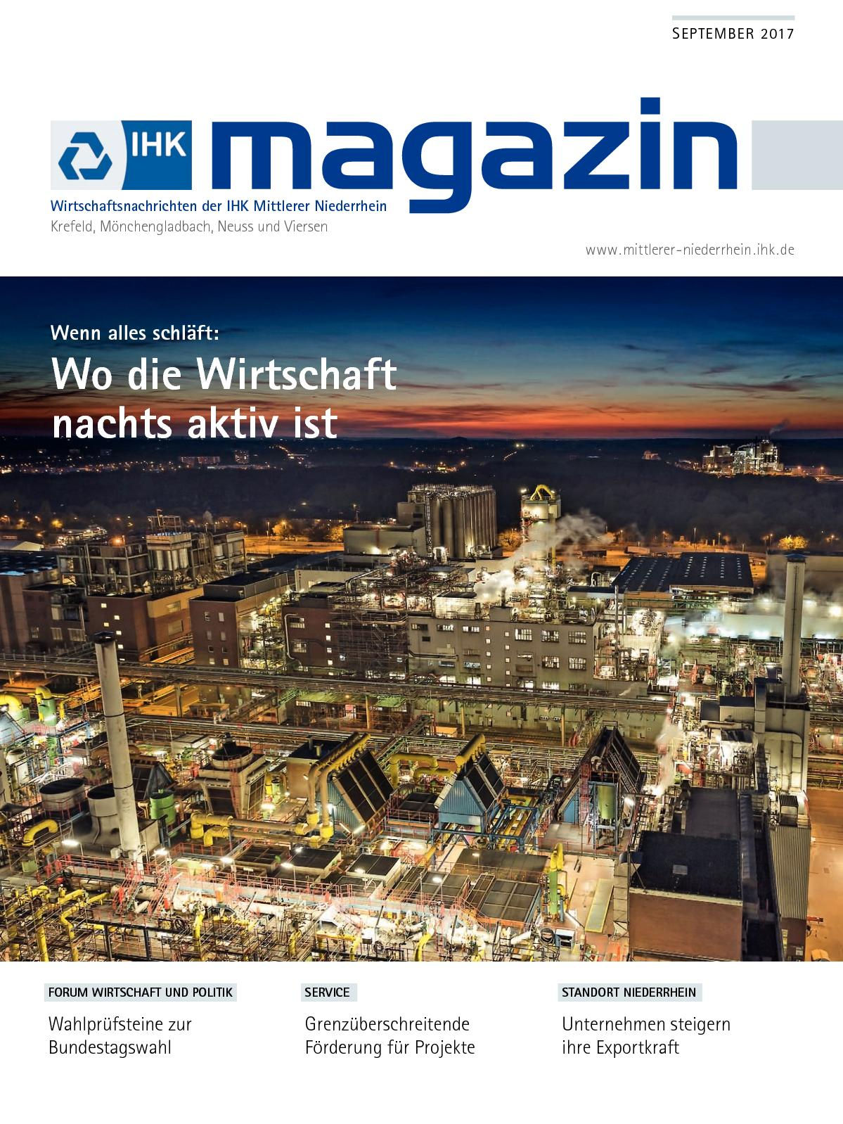 Calaméo - IHK Magazin September 2017