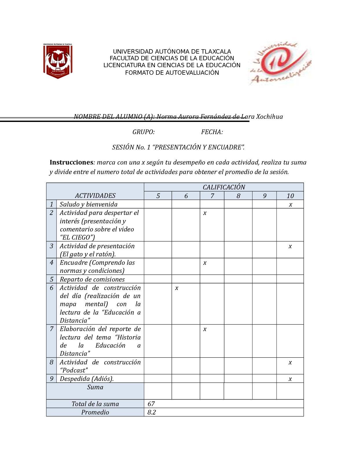 Calaméo - Autoevaluacion1nax