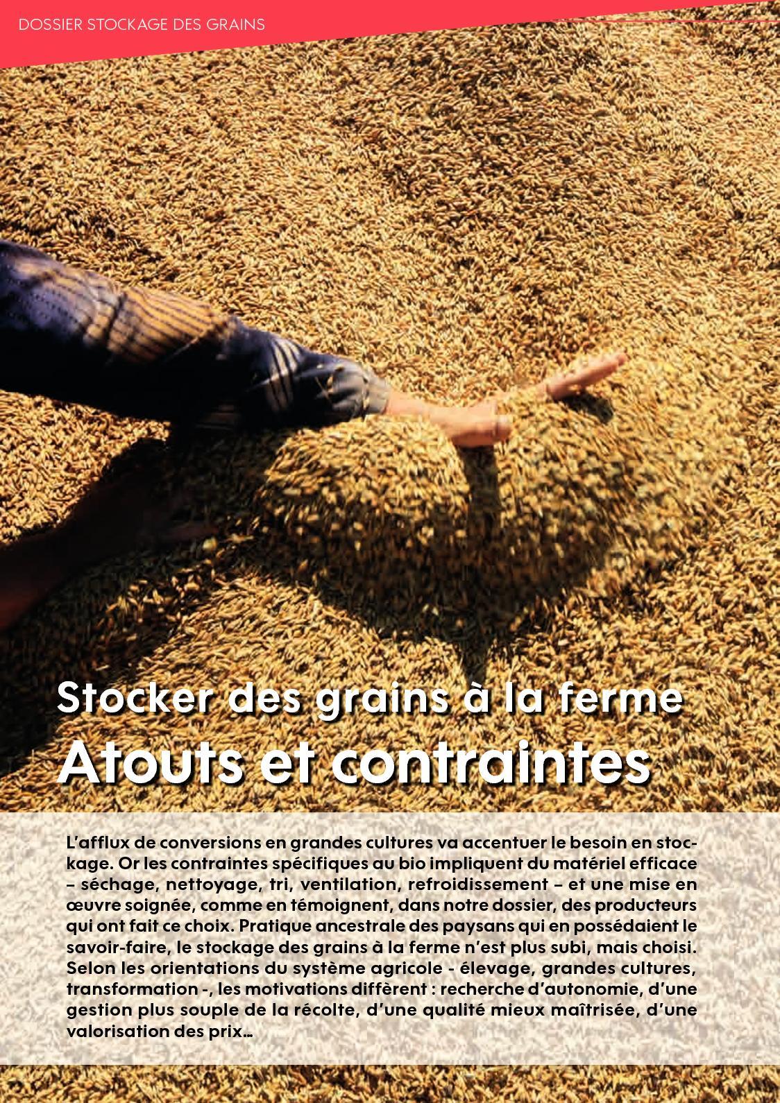 BIOFIL 105 - Dossier Stockage Grains