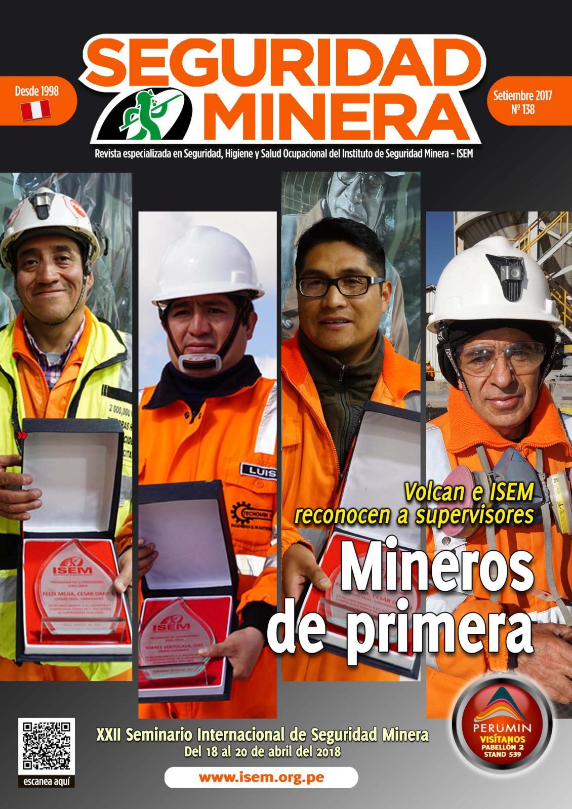 Seguridad Minera Edición 138