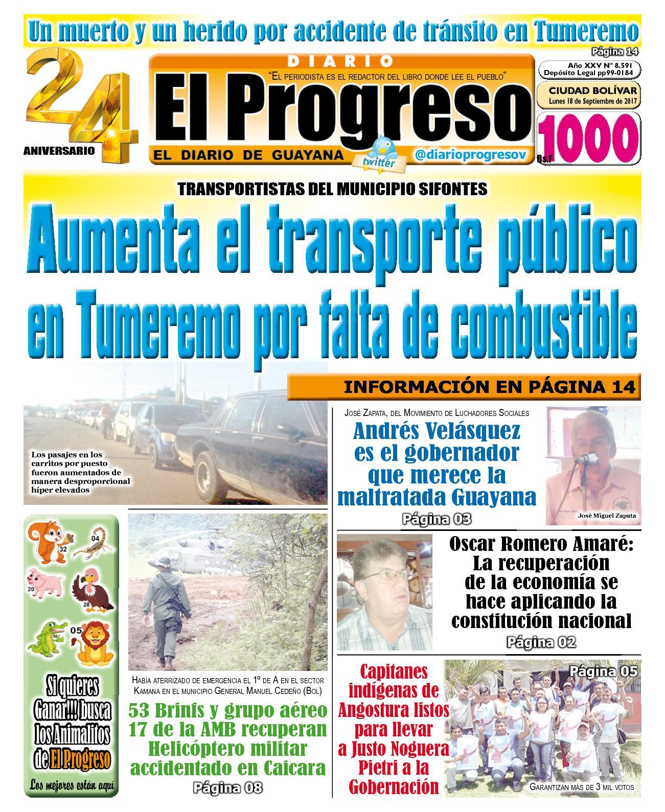 Diarioelprogreso2017 09 18
