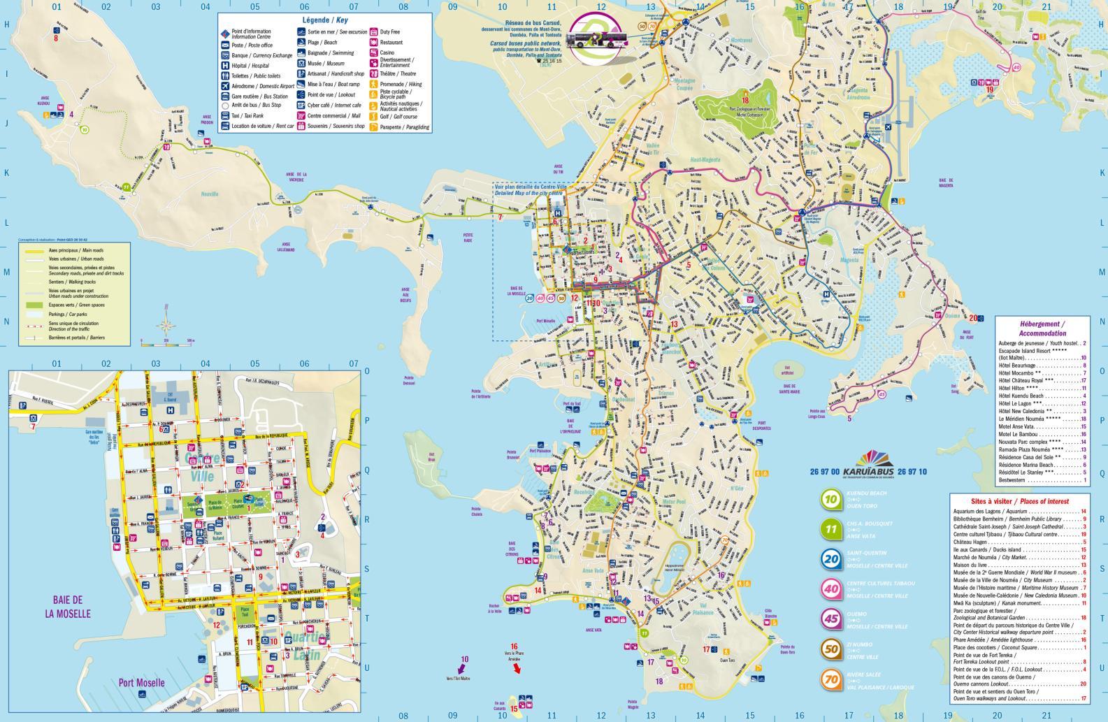 map of noumea plan de noum a calameo downloader