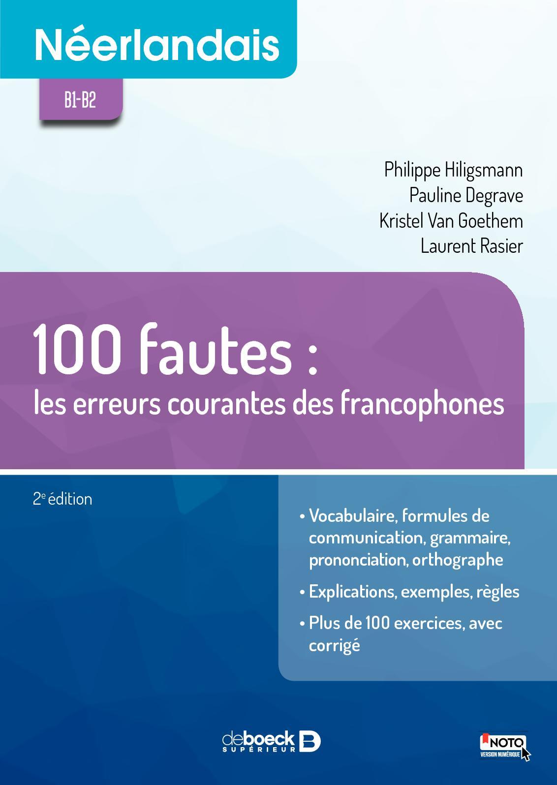 Néerlandais - 100 fautes