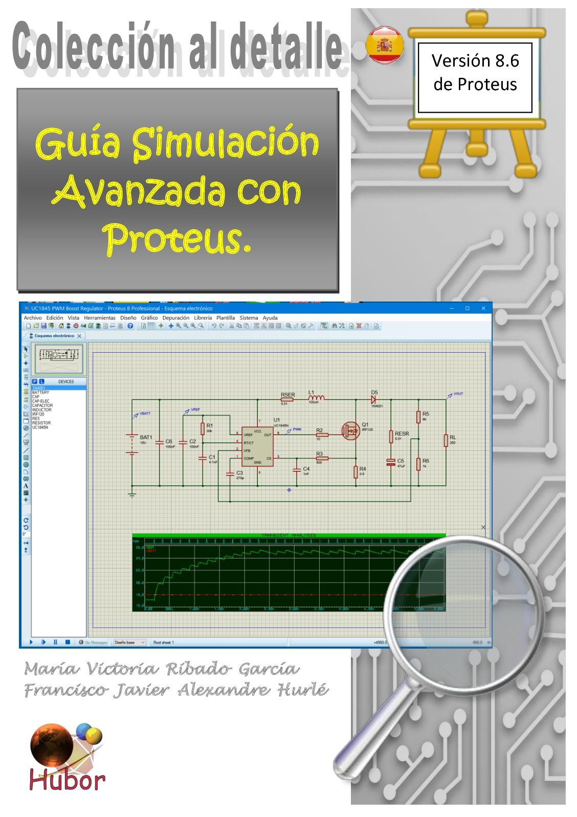 Guia Simulacion Avanzada con Proteus