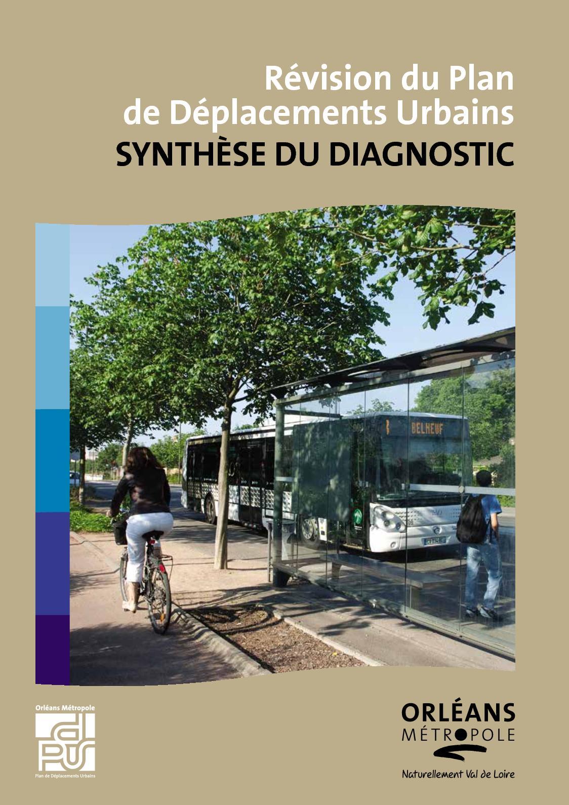 Révision du Plan de Déplacements Urbains - Synthèse du diagnostic
