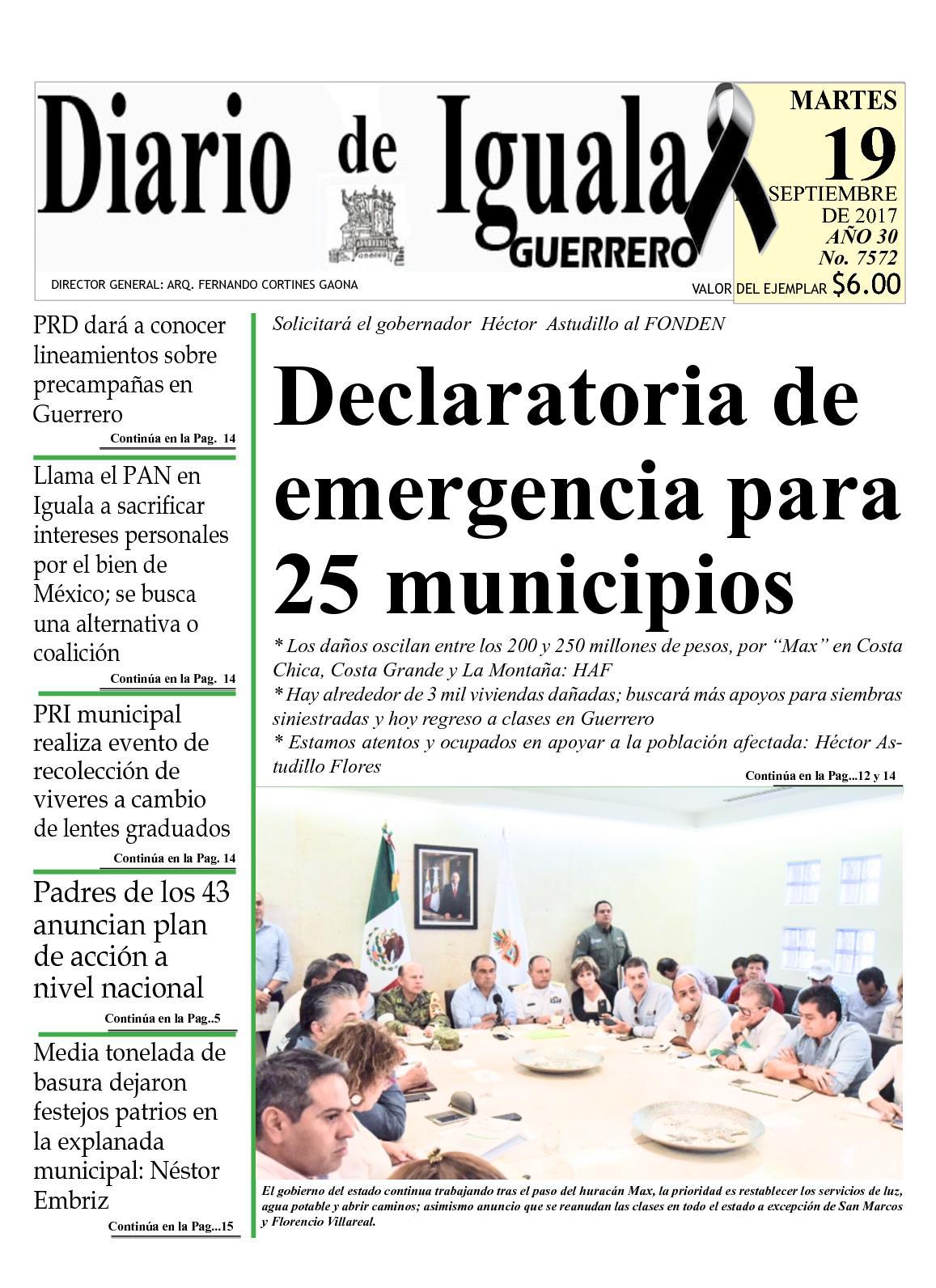 Calaméo - Diario De Iguala Martes 19 De Septiembre De 2017