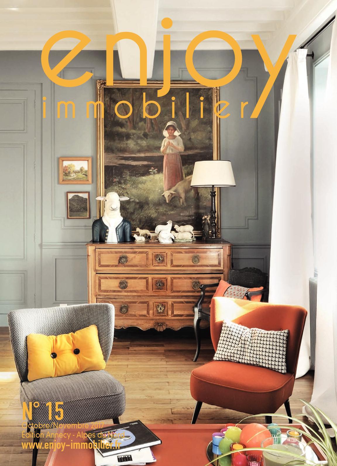 calam o enjoy immobilier annecy alpes du nord n 15 octobre novembre 2017. Black Bedroom Furniture Sets. Home Design Ideas
