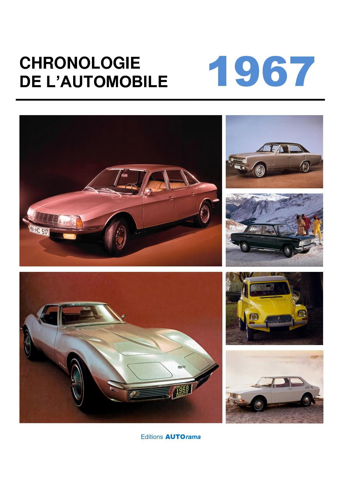 Chronologie de l'automobile - 1967