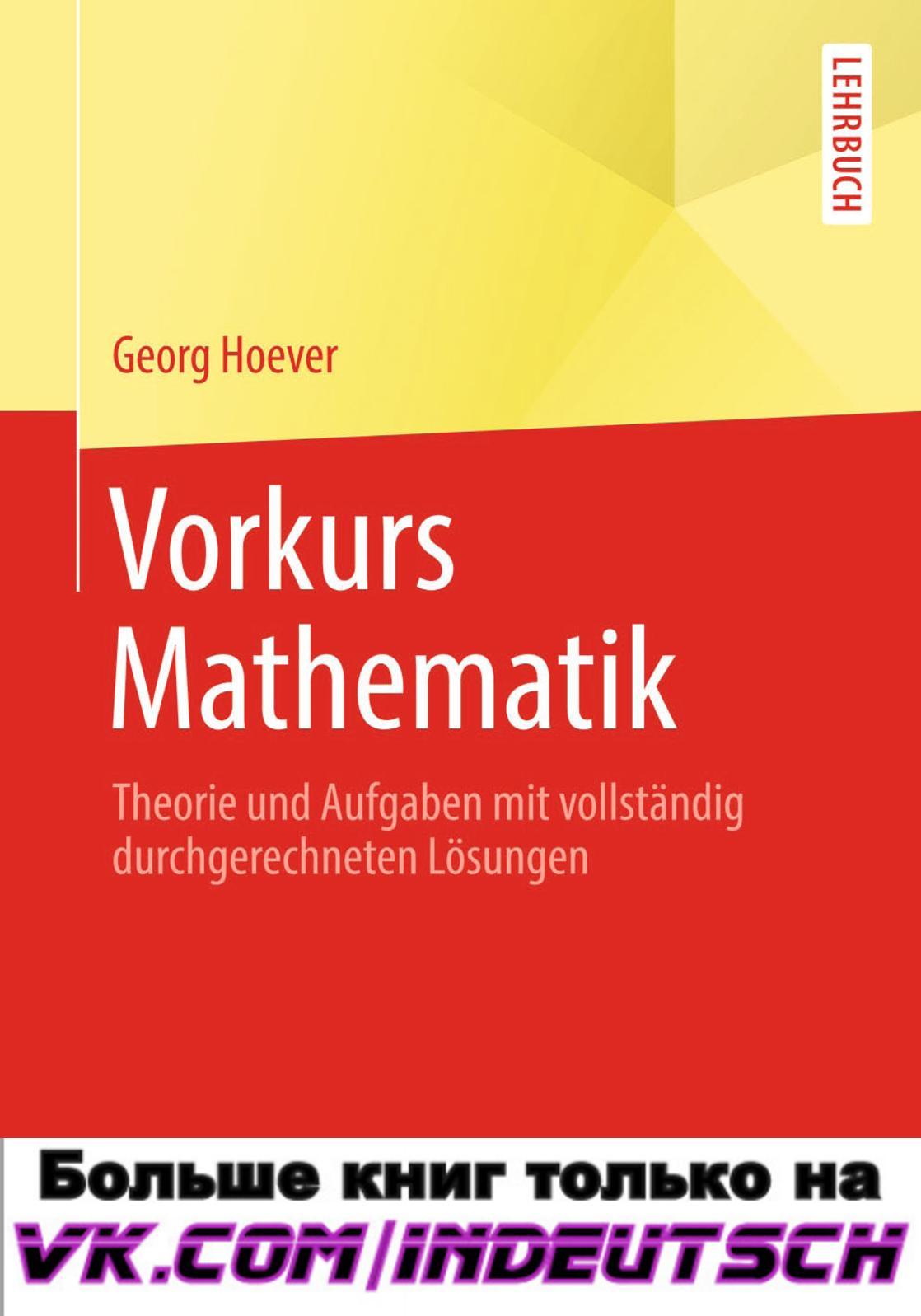 Calaméo - Vorkurs Mathematik