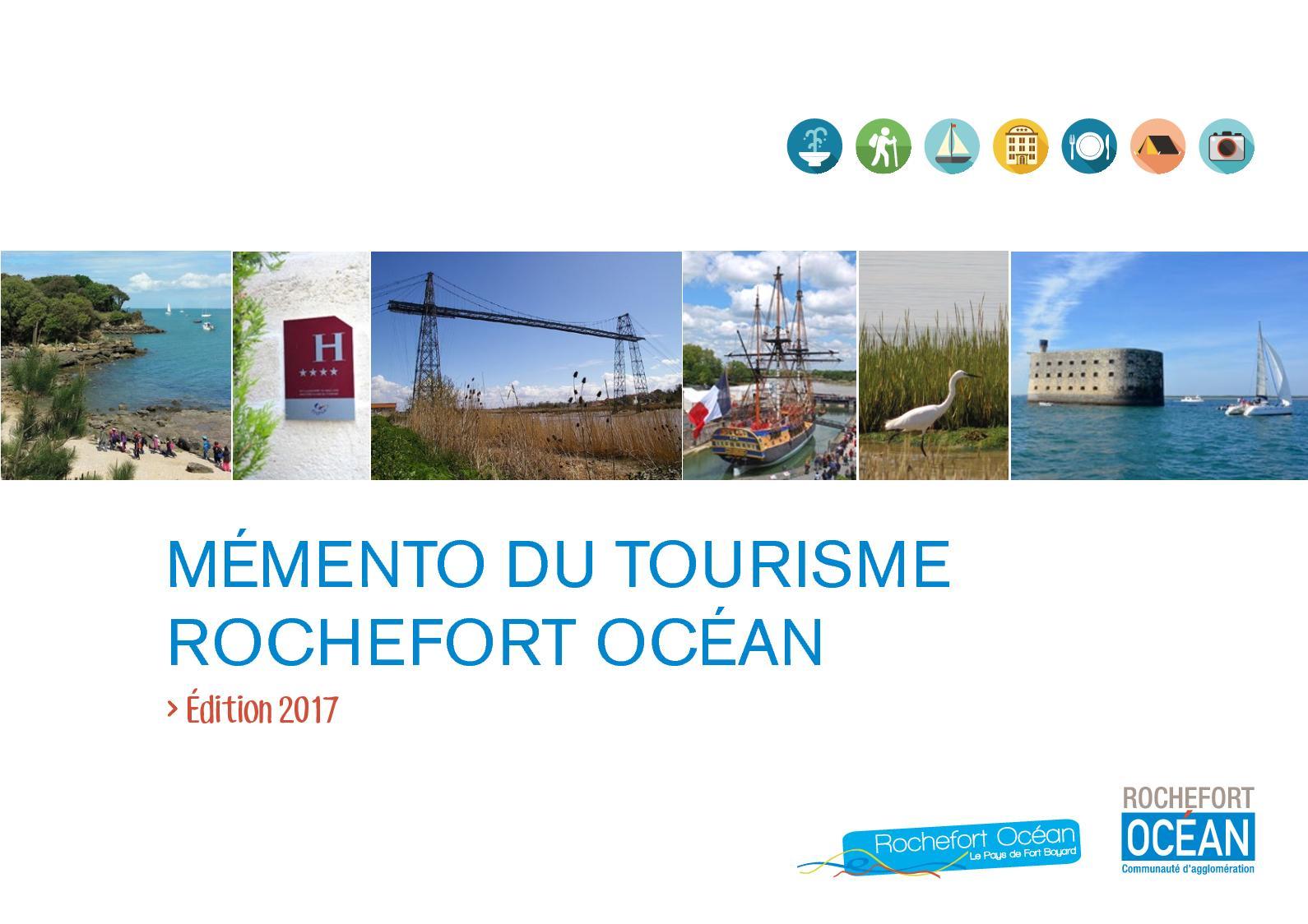 Calam o m mento du tourisme 2017 rochefort oc an - Office de tourisme rochefort ocean ...