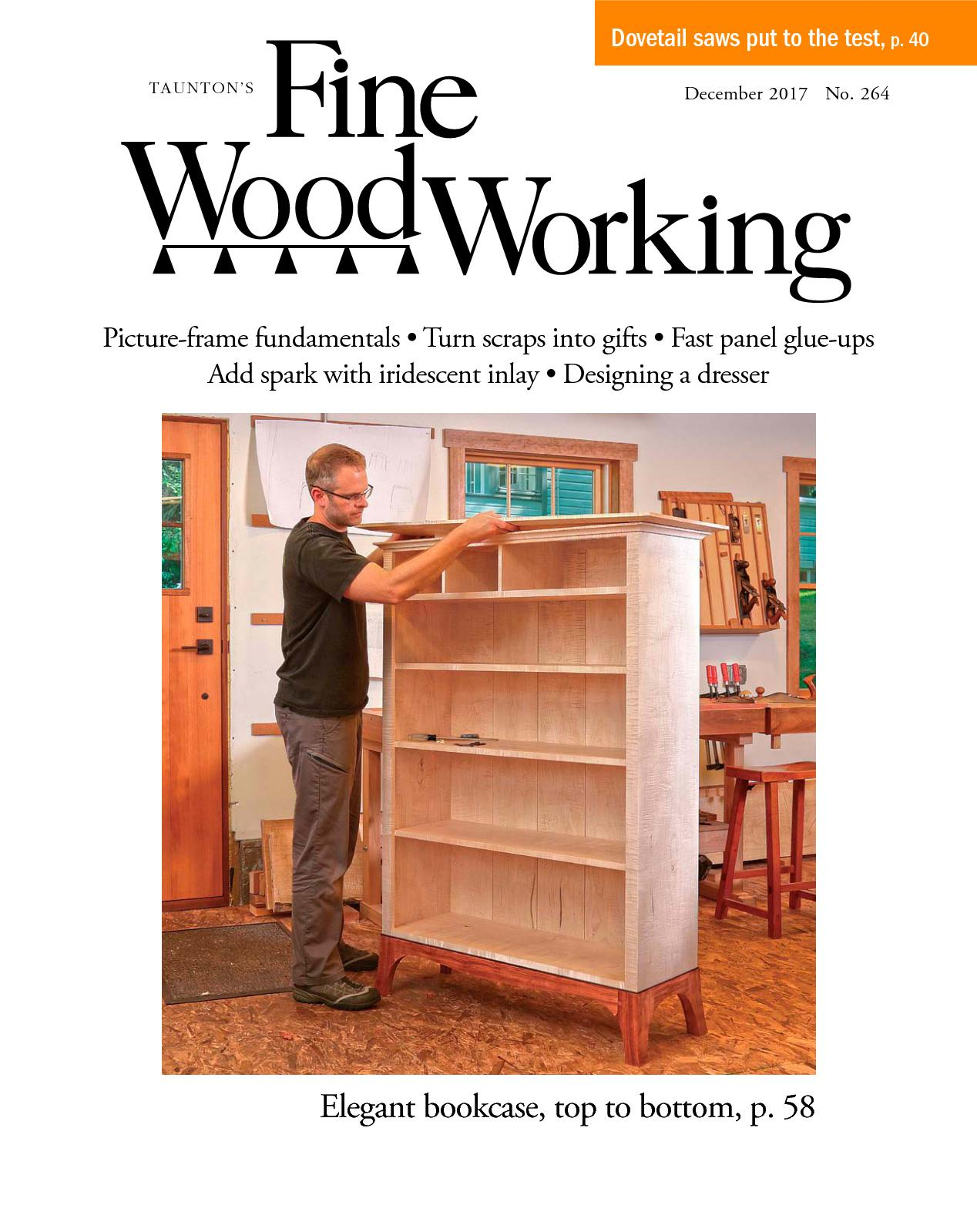 Calam o fine woodworking 264 preview for Fine woodworking magazine discount