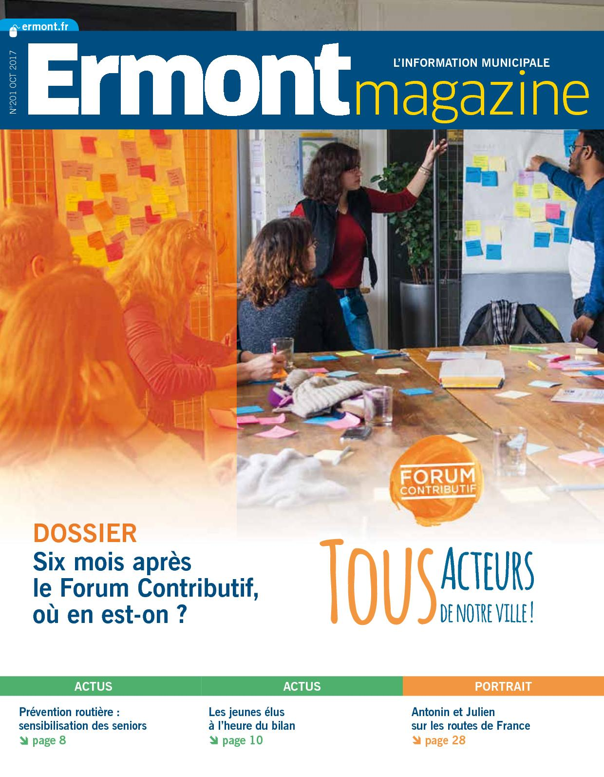 Ermont Magazine N201 Octobre 2017