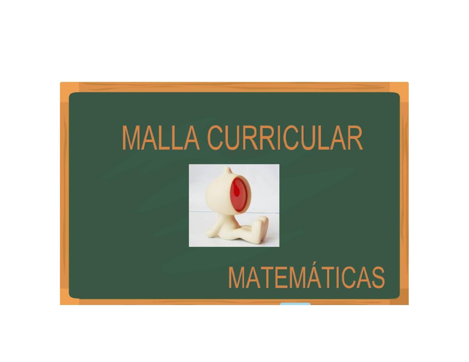 Malla Matematicas