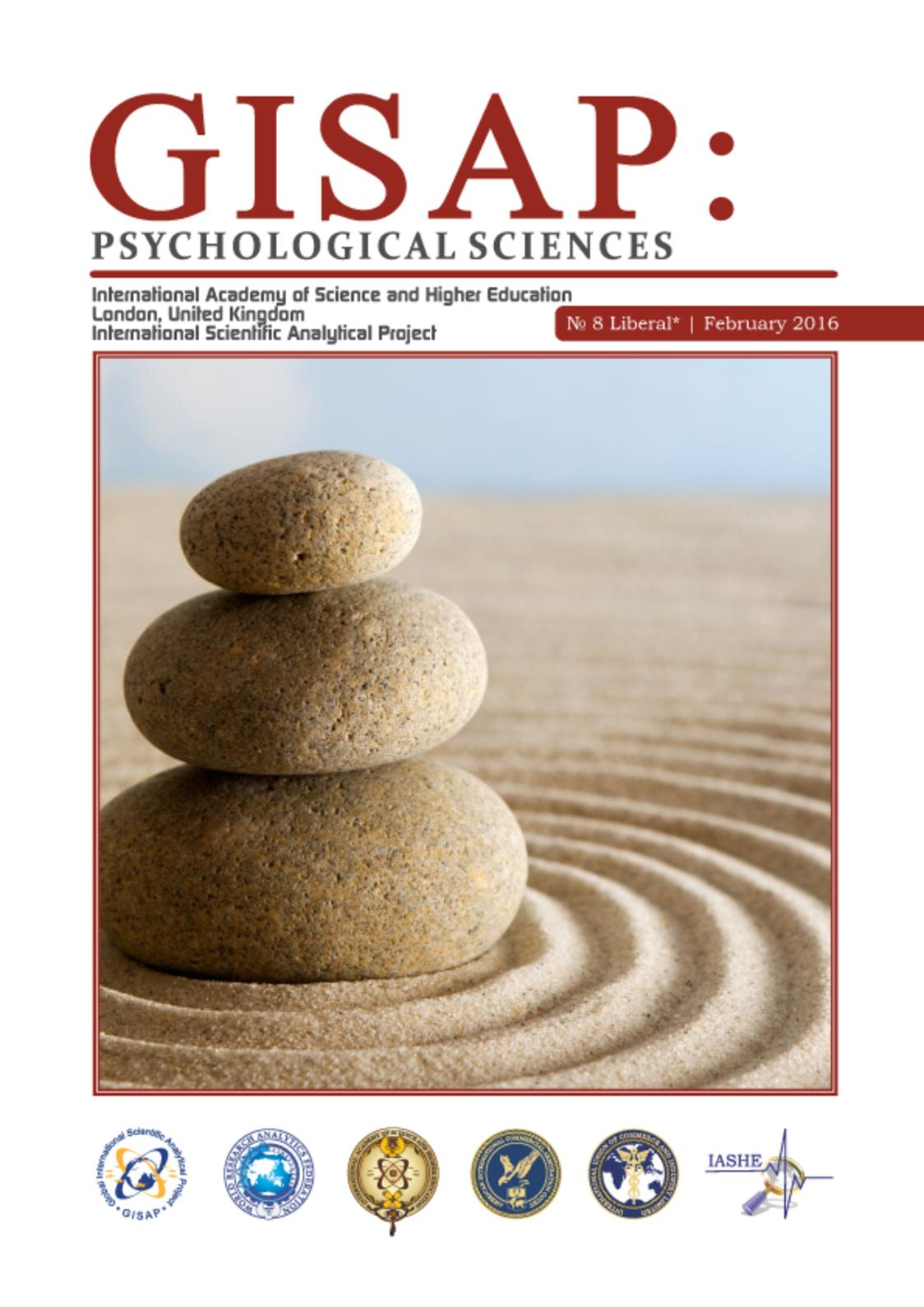 GISAP: Psychological Sciences №8