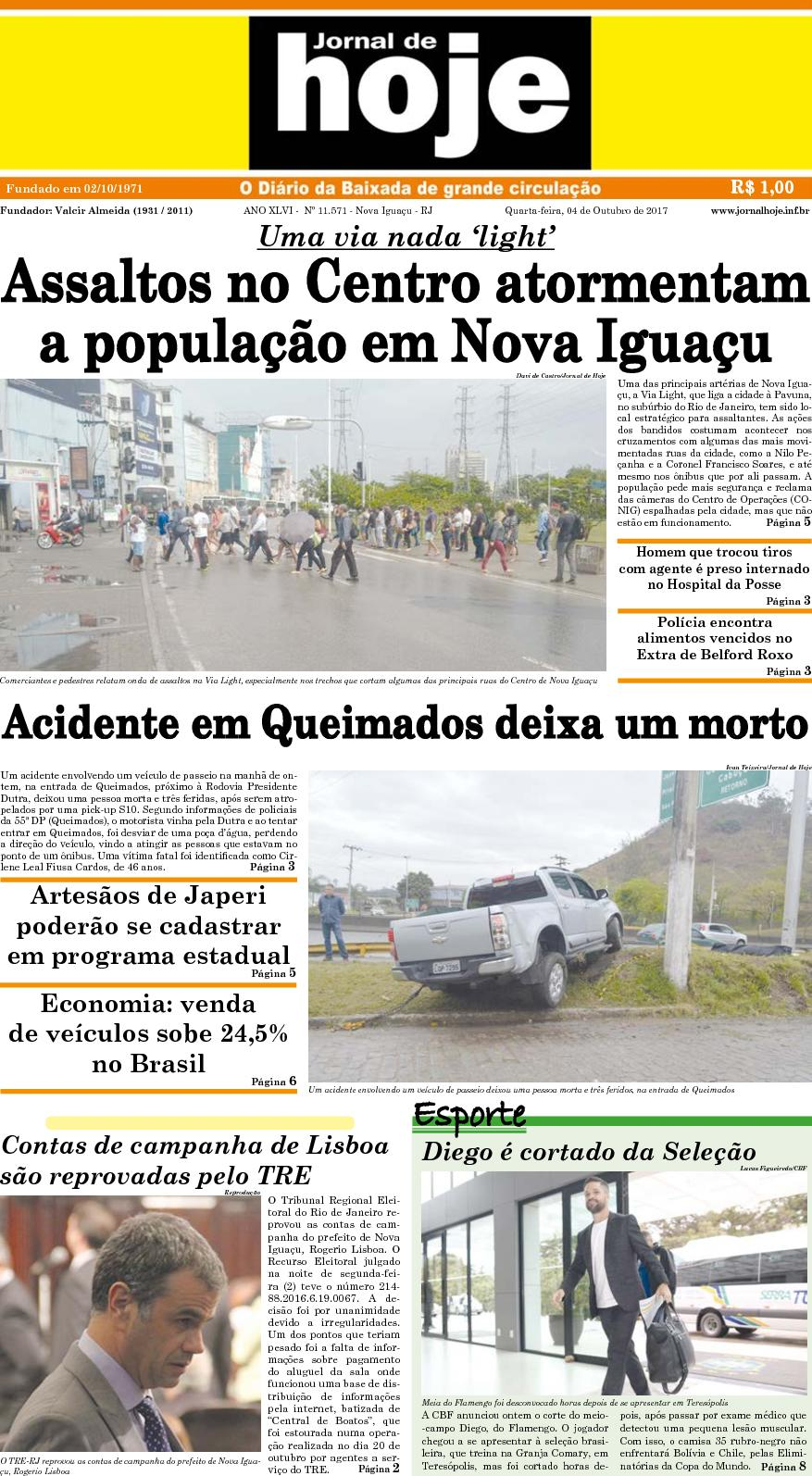 Jornal De Hoje 041017