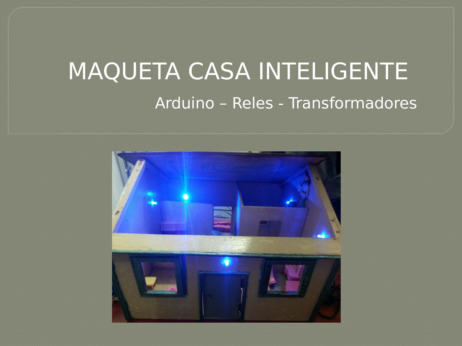 Arduino – Reles Transformadores 2