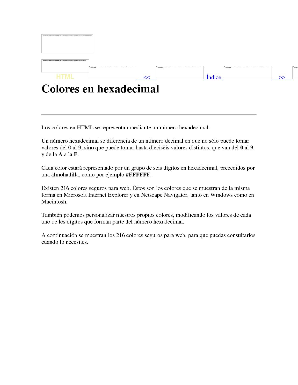 Colores En Hexadecimal (1)