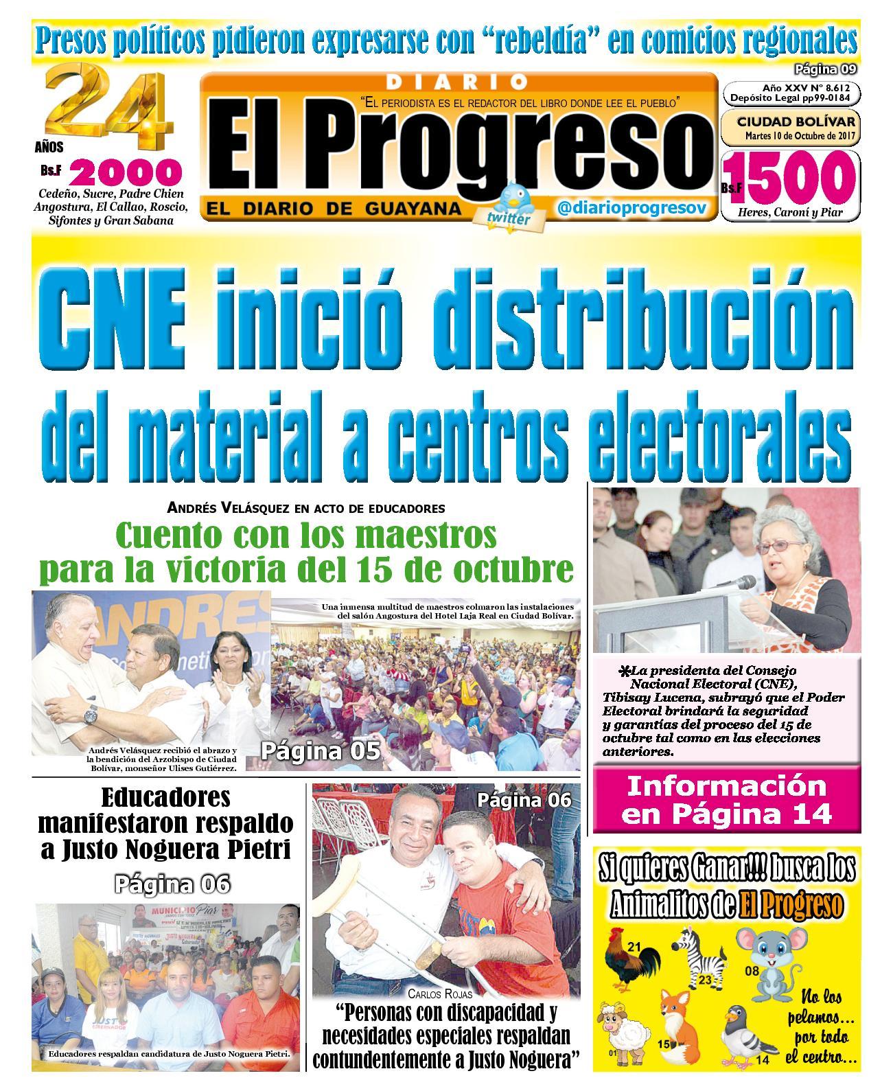 Diarioelprogreso2017 10 10