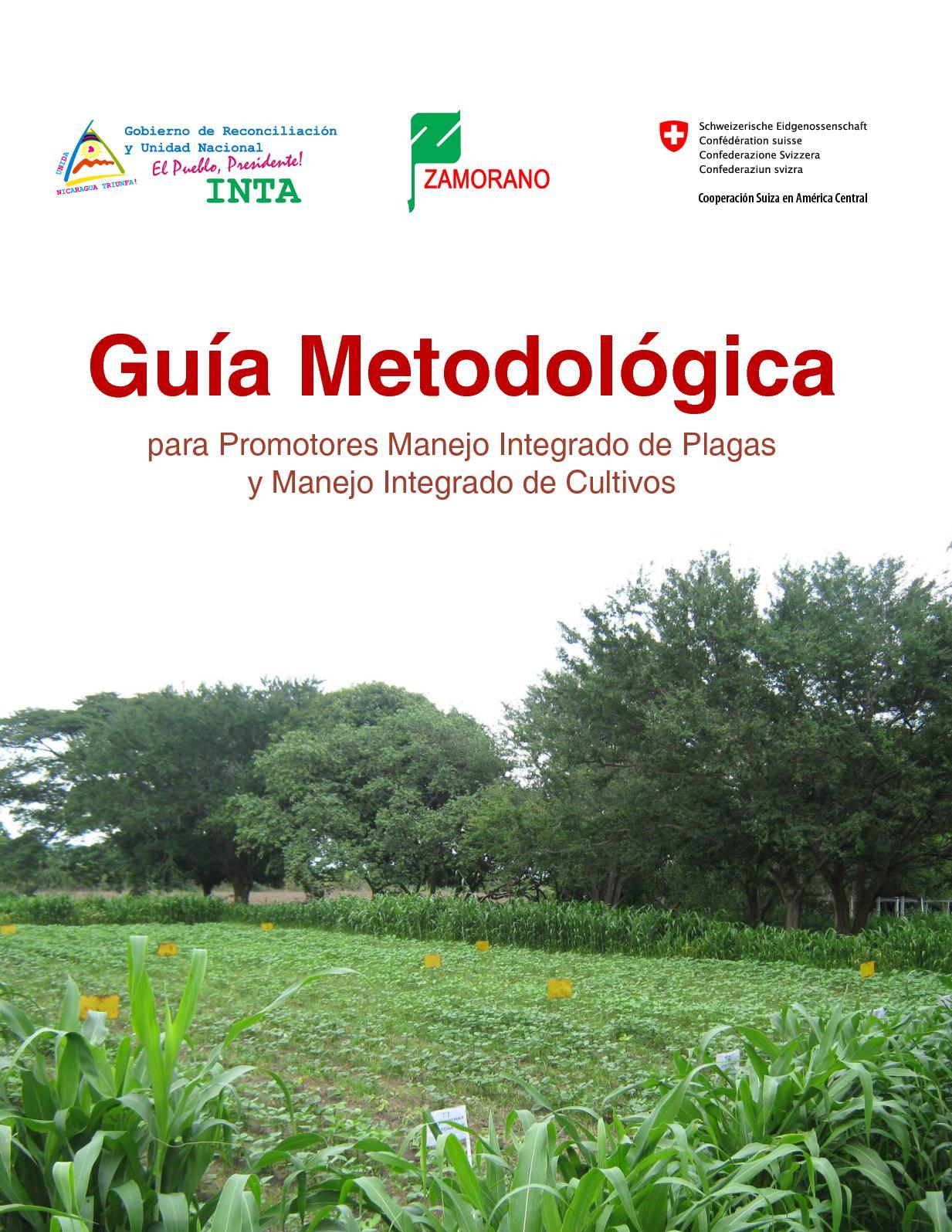 Guia Metodologica de Manejo Integrado de Plagas para Promotores
