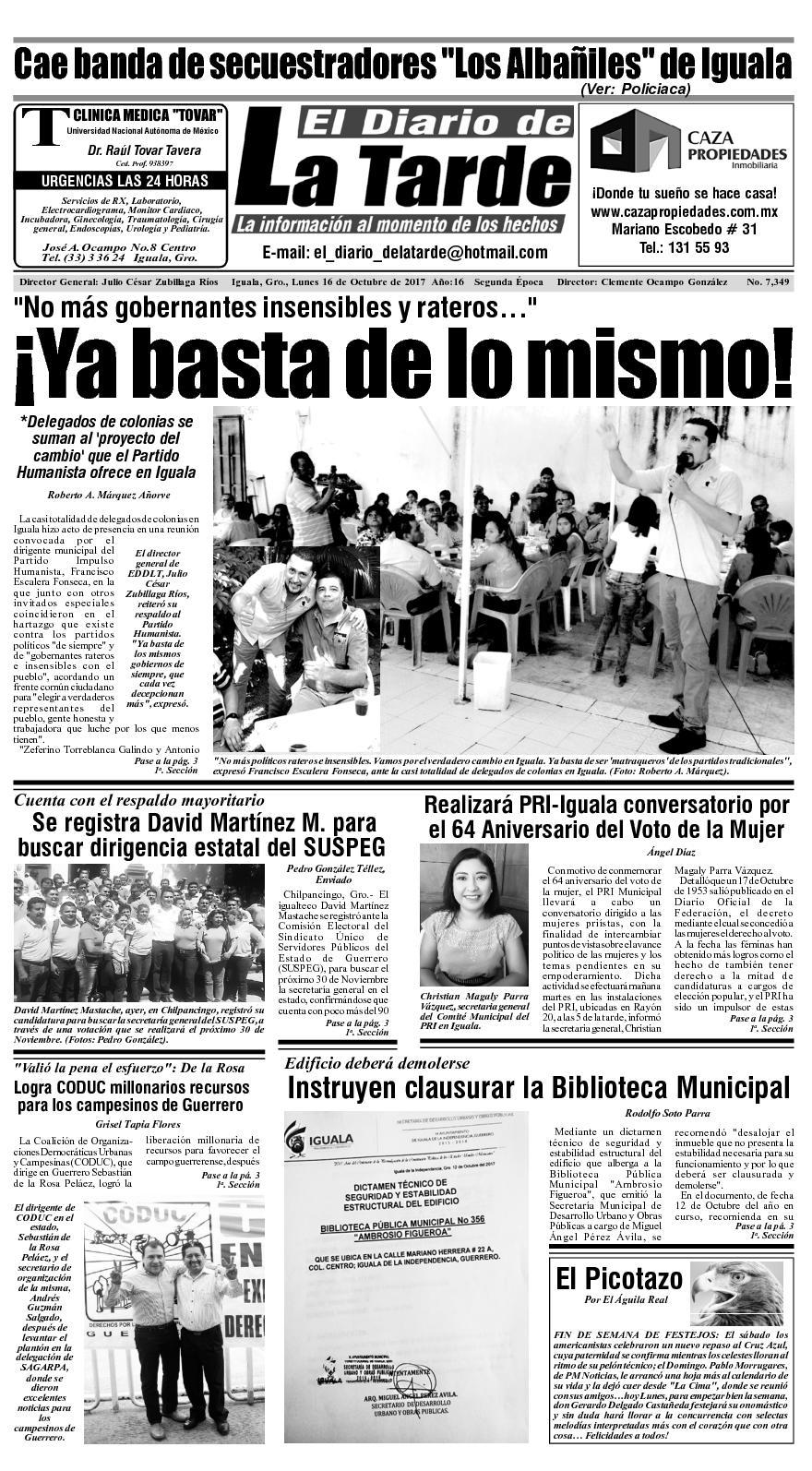 Calaméo - 16 De Octubre De 2017