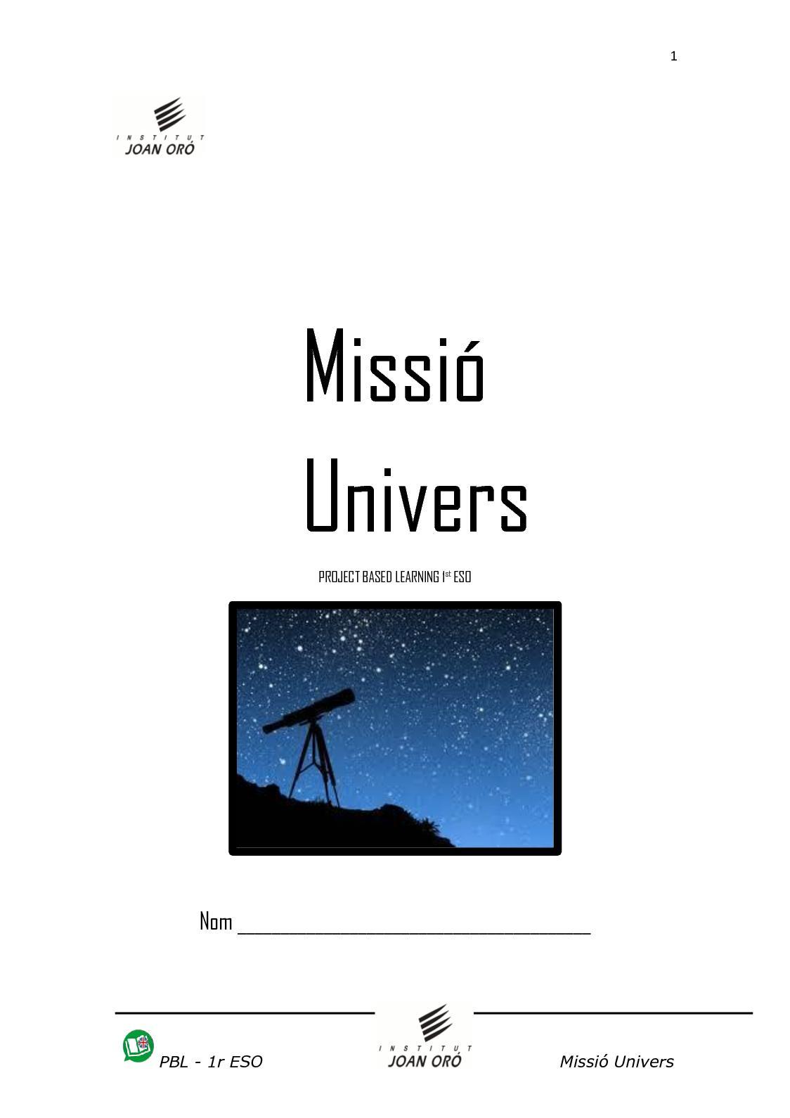 Univers Dossier Alumnat