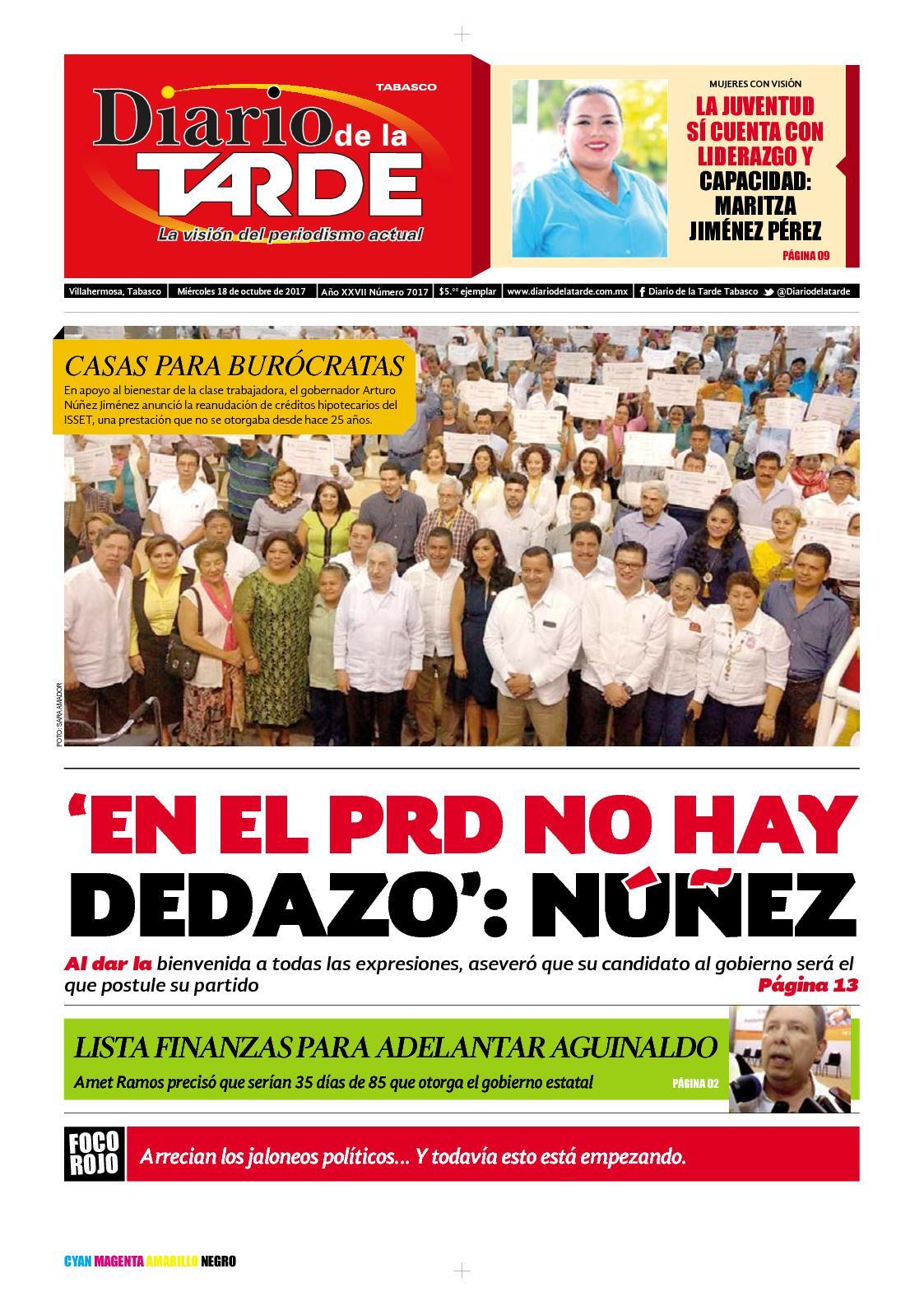Calaméo - Edicion Miércoles 18 De Oct 2017