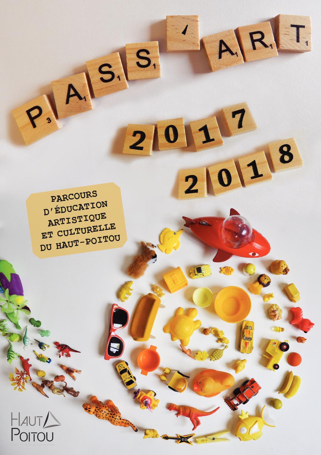 Pass'Art et Pass'Sport 2017-2018