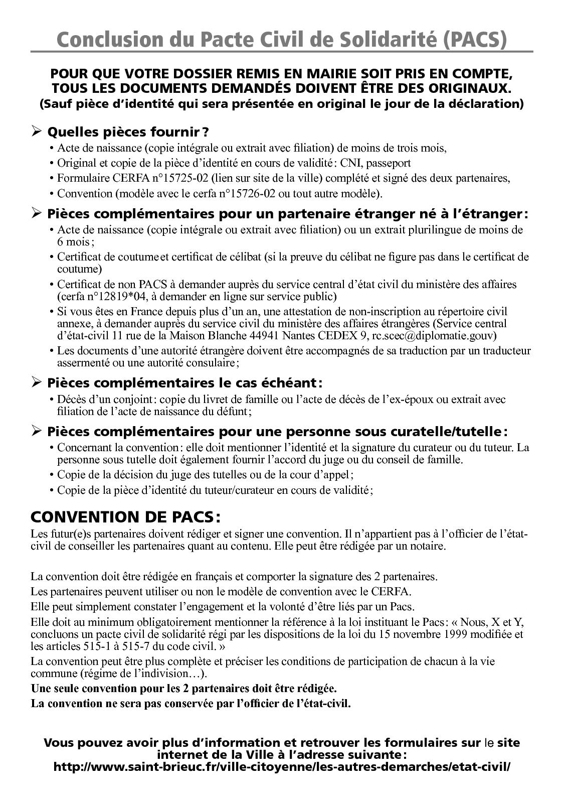 Calameo Conclusion Du Pacte Civil De Solidarite Pacs