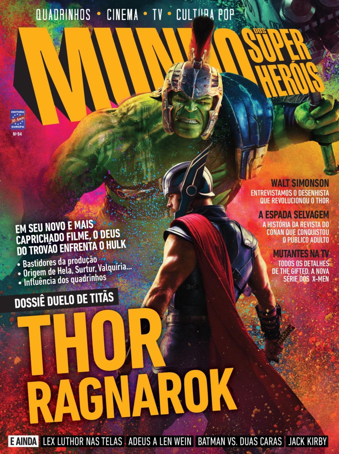 Revista Mundo dos Super Heróis │Edição 94 │Outubro 2017