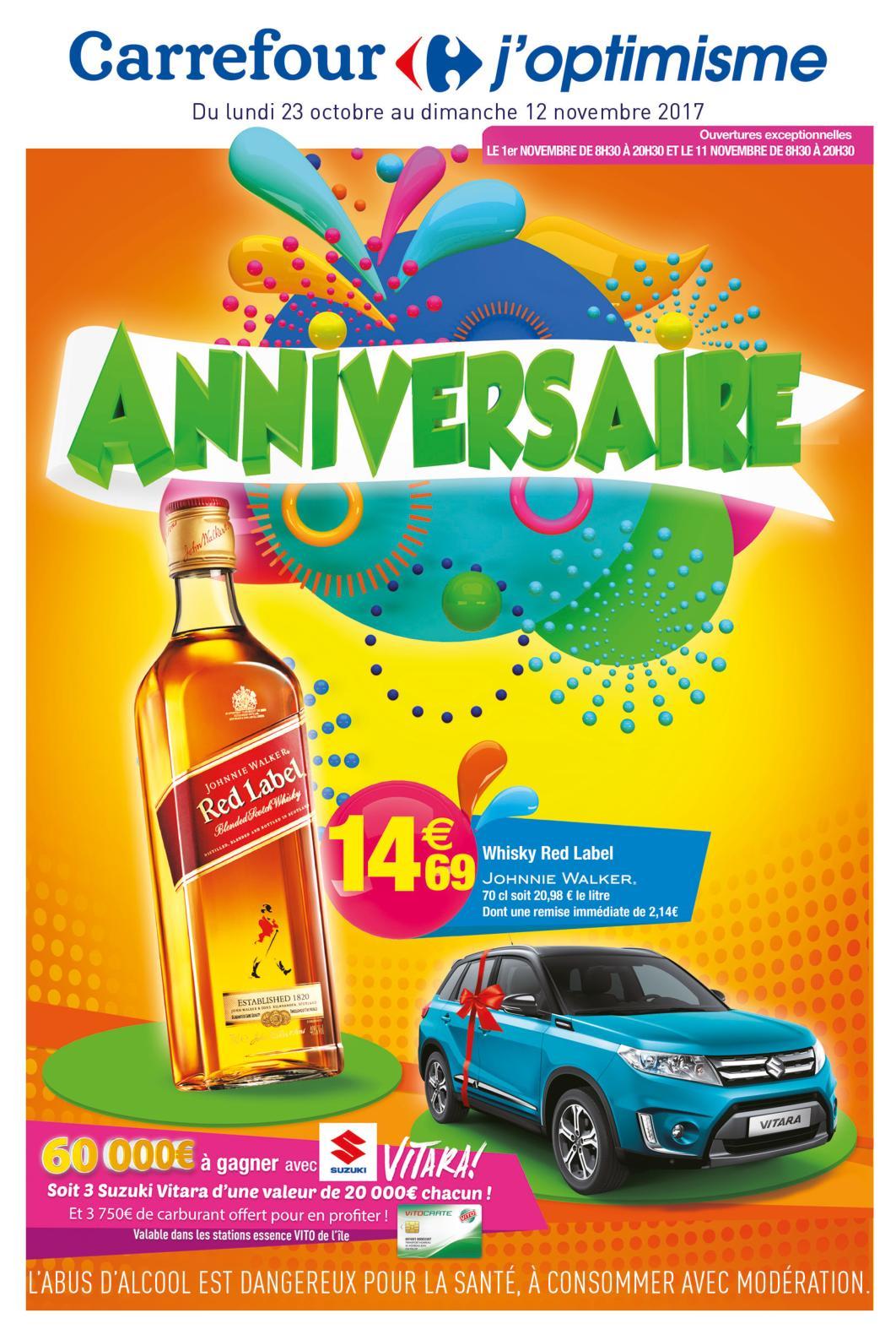 Anniversaire Carrefour