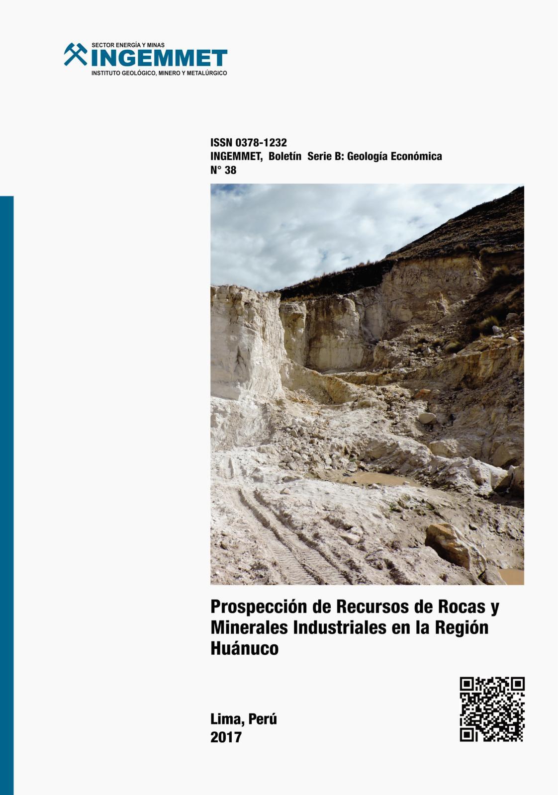 Calaméo - Boletín 38 Prospección De Recursos De Rocas Y Minerales ...
