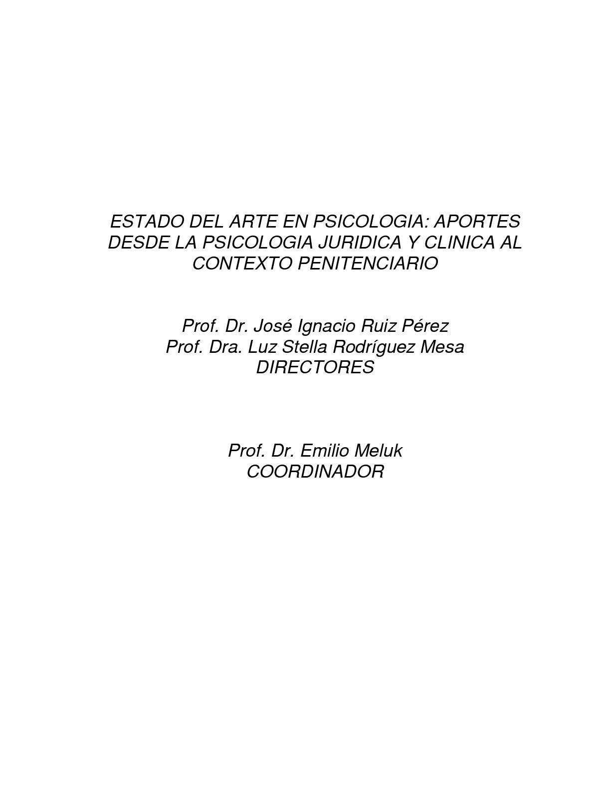 Calaméo - Estado Del Arte En Psicologia Aportes Al Contexto ...