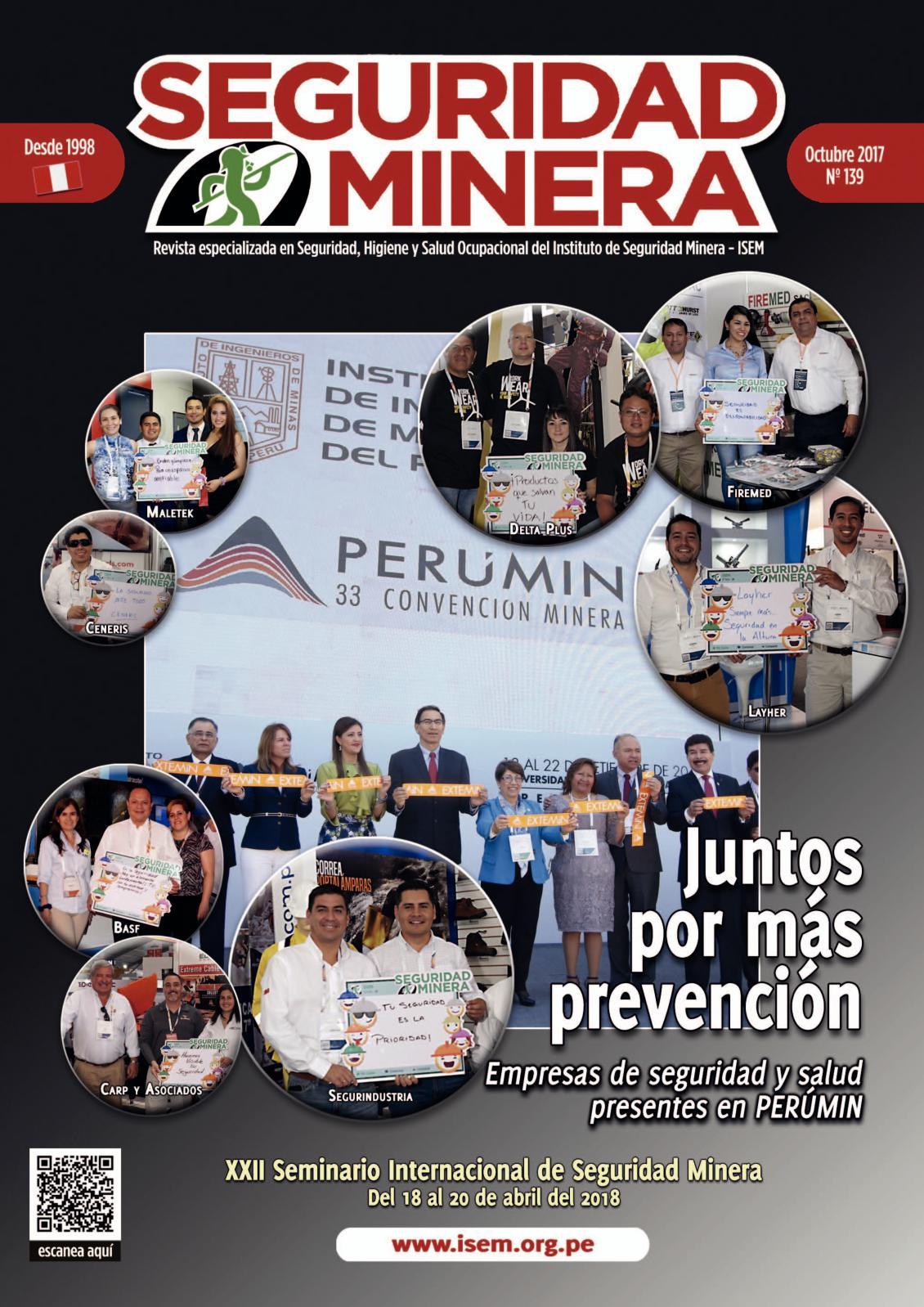 Seguridad Minera Edición 139