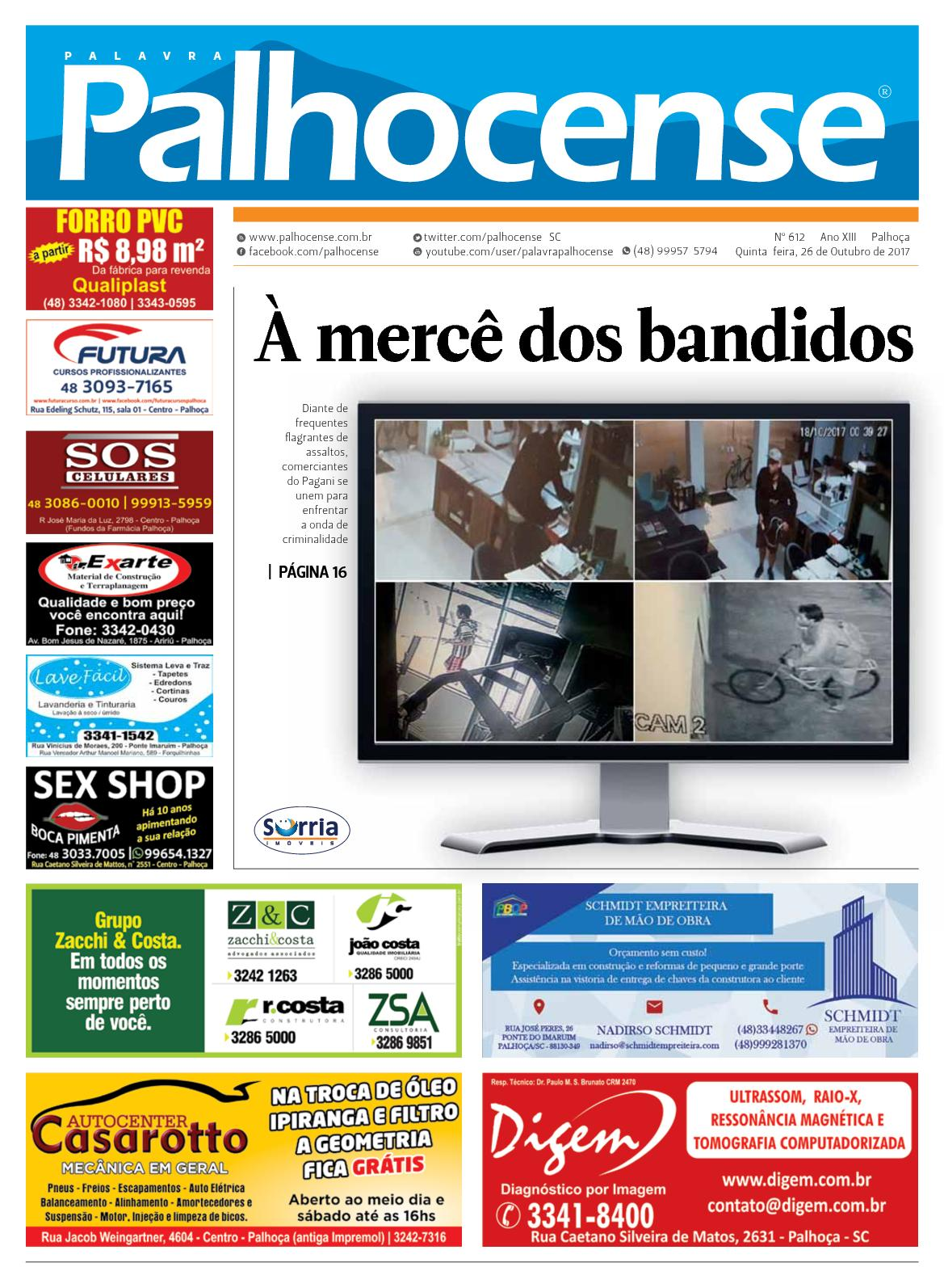 Calaméo - JORNAL PALAVRA PALHOCENSE - EDIÇÃO 612 50a5616b3cd00