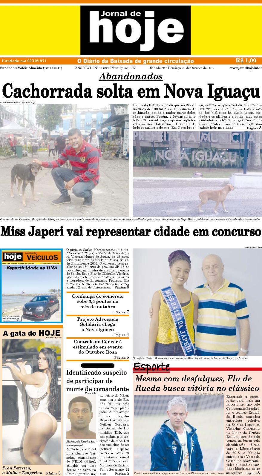 Jornal De Hoje 281017