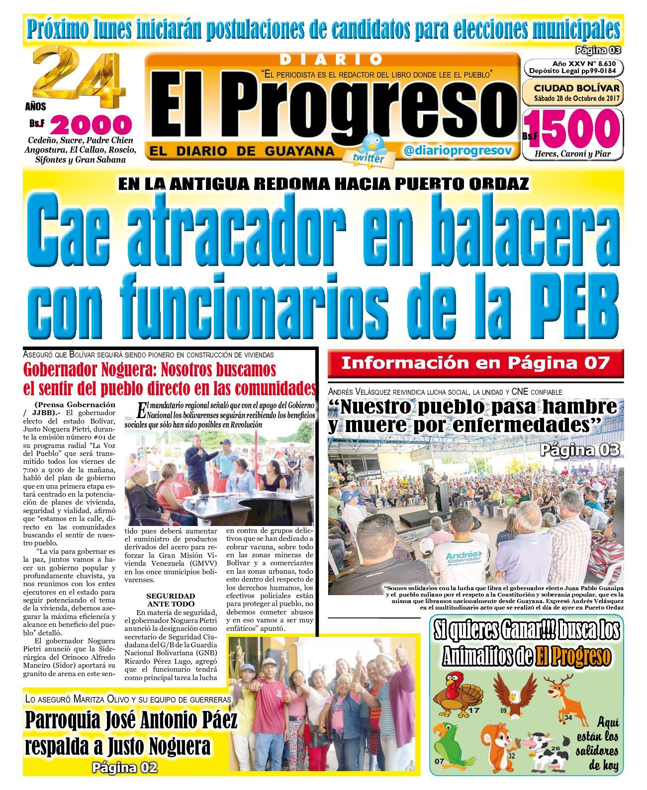 Diarioelprogreso2017 10 28