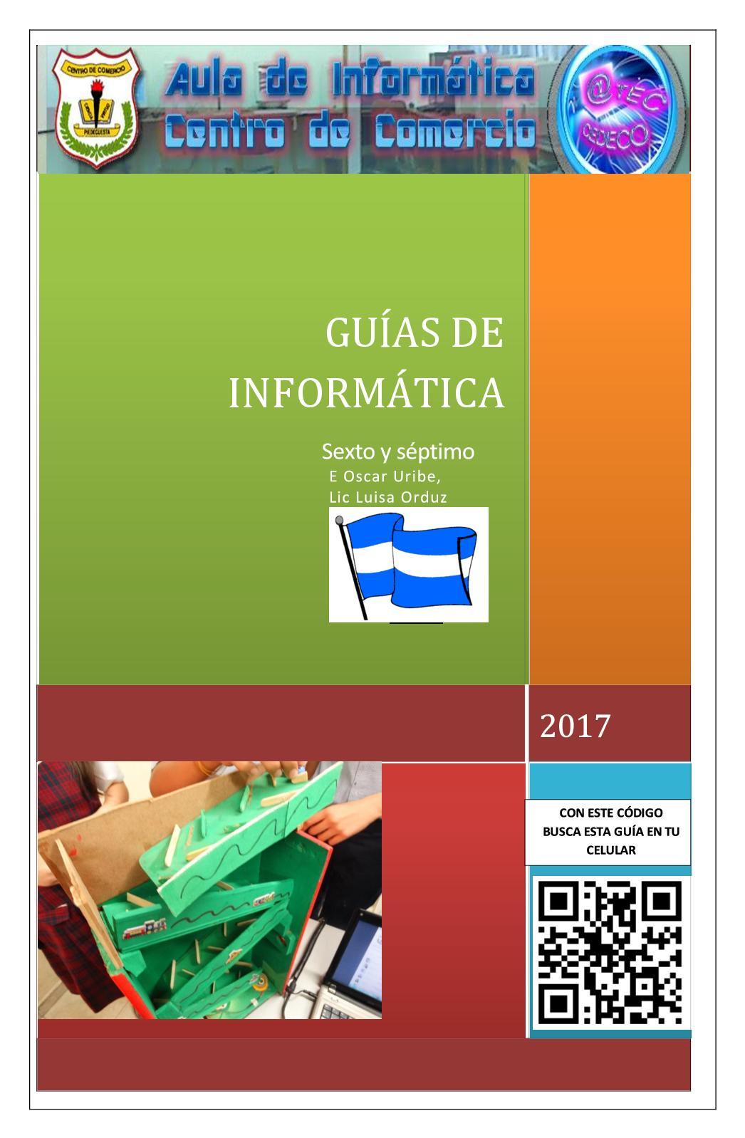 Calaméo - Guias Informatica 6° Y 7° (Excell, Ovas, Hardware, Historia)