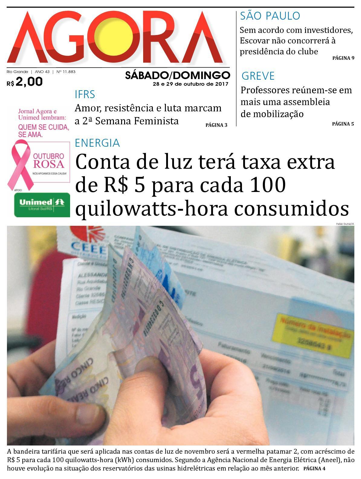 b41495085bc Calaméo - Jornal Agora - Edição 11883 - 28 e 29 de Outubro de 2017
