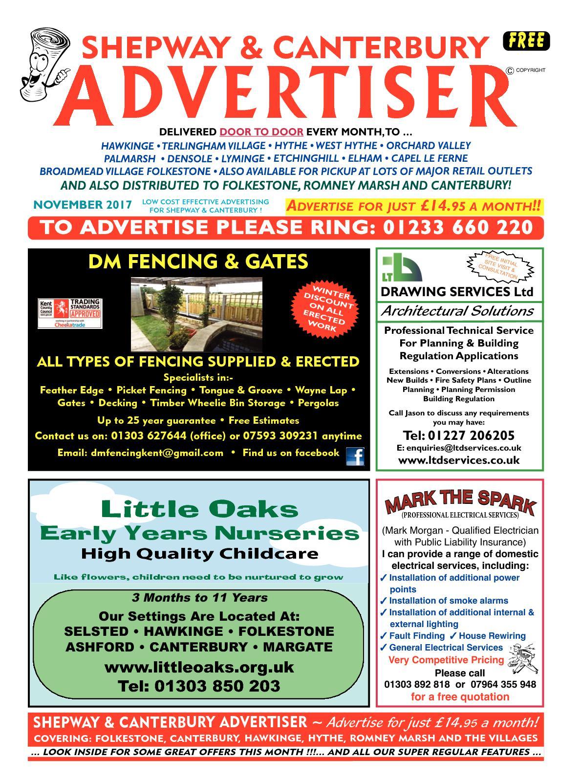 Calamo Shepway And Canterbury Advertiser Niceic Type Wiring Codes