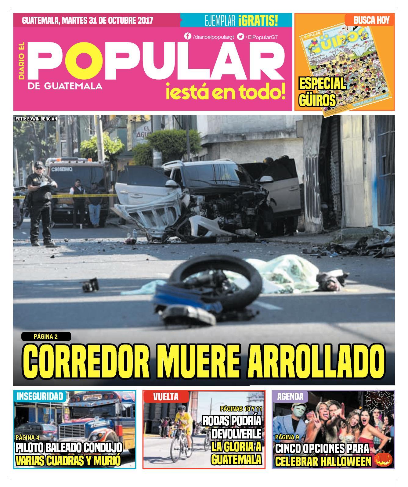 EL POPULAR GUATEMALA 31102017