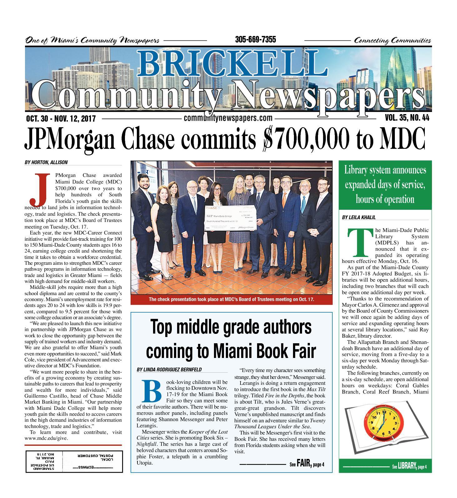 Calaméo Brickell Tribune 10 30 2017