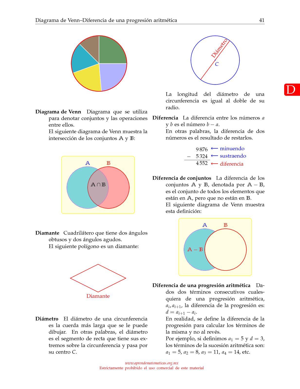 Diccionario de matemtica calameo downloader page 47 ccuart Gallery