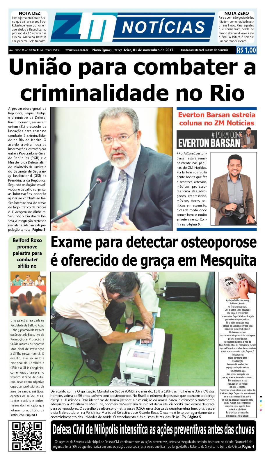 ZM Noticias - Edição 011117